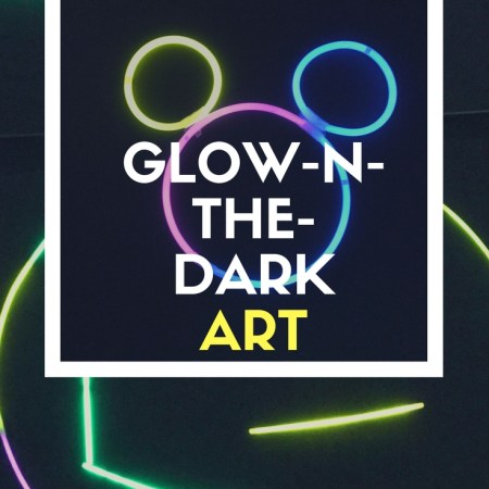 Glow in the dark fun art is one of my kids's favorite things to do at night. It's a really great way for the kids to be creative and learn about art in a non traditional way. I love this glow-N-the-dark art because my kids will come up with the neatest ideas to make!