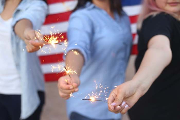 11 Fun Traditions (With A Patriotic Twist) Make a wish with a sparkler or...