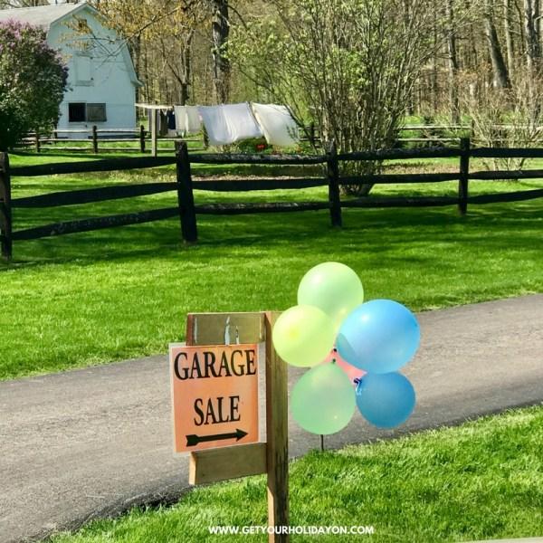 Amish Garage Sales| Why I love them!