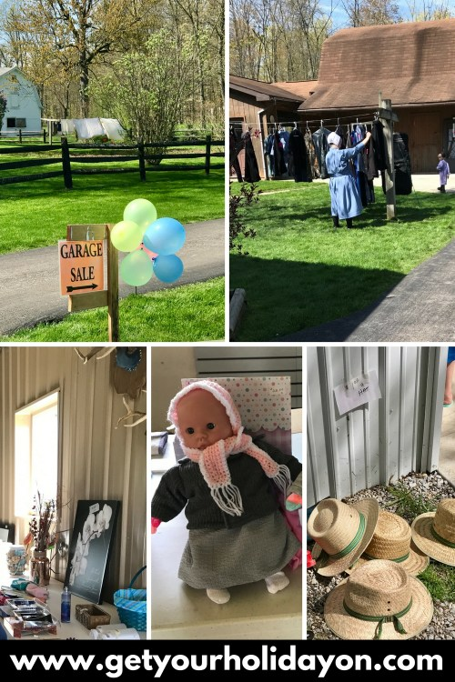 Put a twist on garage sales and go to an Amish sale. It was so much fun and a unique experience!
