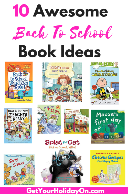 Looking for Back To School Book Ideas for the kids? Need help with the school jitters. These books will help children to feel better about going back to school.