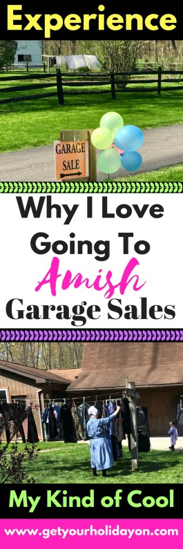 I love putting a twist on life and getting out and doing things that are out of the ordinary! I just think that is part of living; doing things that are crazy, fun, unique, and non-traditional. Such as an Amish Garage Sale Experience!