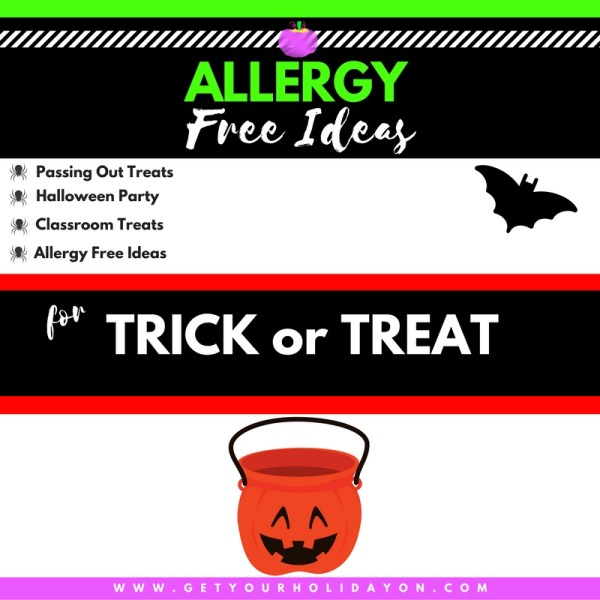 ALLERGY FREE for Trick or Treaters