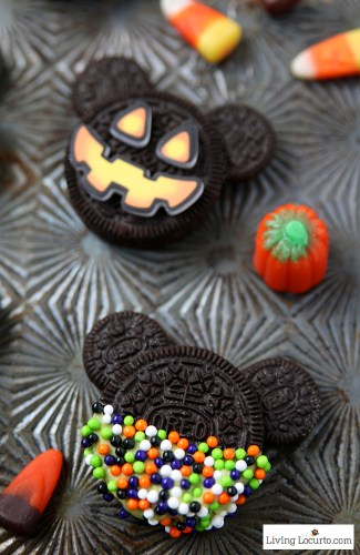 7 Foods to Make Halloween Extra Fun| Not so scary Halloween Mickey Mouse Disney cookies