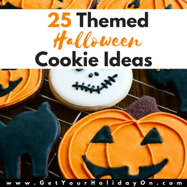 In search of ideas for Cookie ideas for Halloween? We have searched high and low to find the best Halloween themed cookies on the web. These cookies will be great for a school lunch, classroom party, festival, Halloween party or bash, or just for a good ol' family treat! There is pumpkin, skull, candy corn, witch, and eyeball themed cookies all worth making and trying!