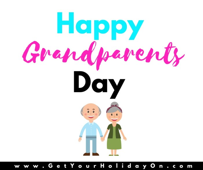 Grandparents Day Surprise Gift Idea