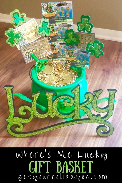 How and Why To Use Game Prizes for An Adult Party Lucky Lottery Gift Basket