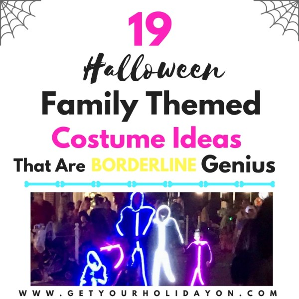 Family Halloween Costumes Ideas That Are Borderline Genius
