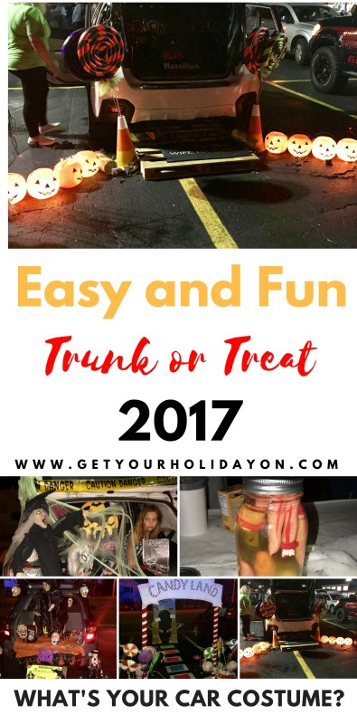 Easy and Fun Trunk or Treat| Showing you new car costume ideas.