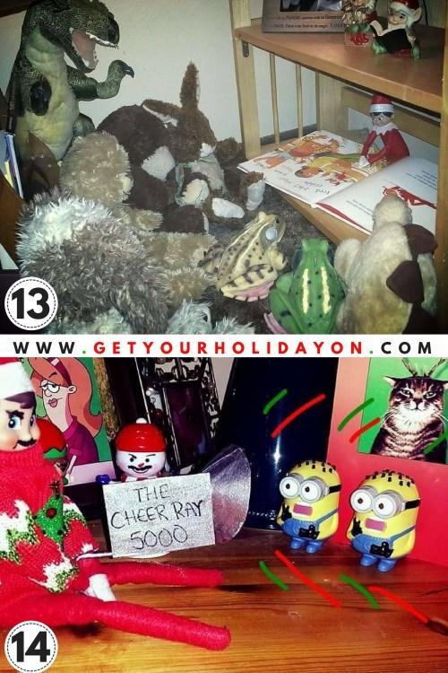 Boy Elf on the Shelf Ideas.