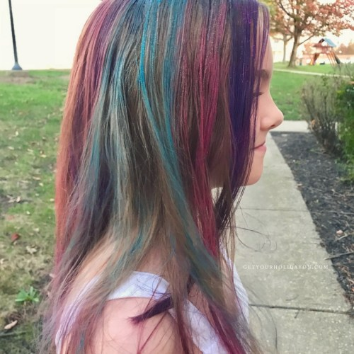 How To Make Unicorn Hair For Spirit Week| Get Your Holiday On