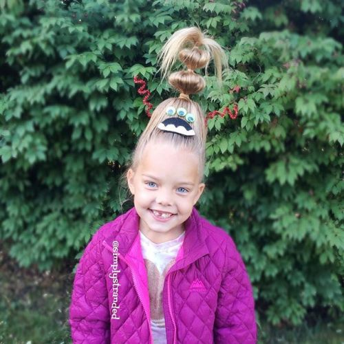 Now That's Crazy Hair Day At School| Spirit Week Here We Come!
