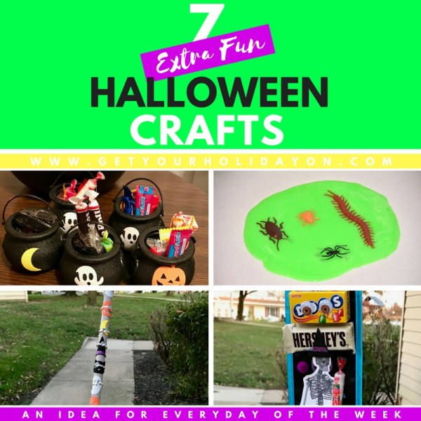 7 Extra Fun Halloween Craft Ideas