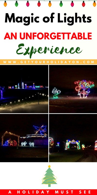 Magic of Lights Review | Holiday Traditions in Northeast Ohio #Ohio #Christmas #holidaytradition #travel