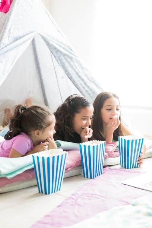 Tween and Teen ideas that will help you throw a successful slumber party!