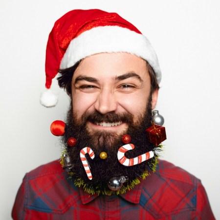 How To Make Your Beard Extra Festive