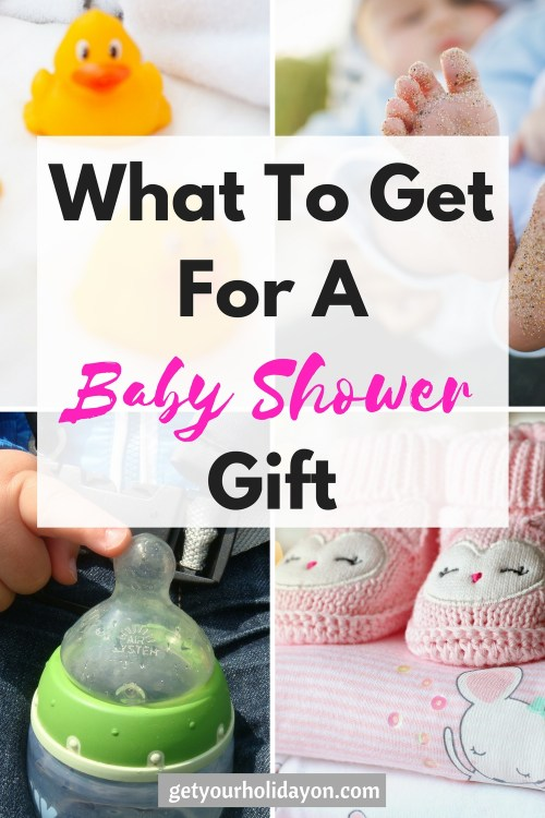Baby Shower Gift Ideas! A helpful baby shower gift idea list that work great for a baby girl or boy! #babyshower #baby #mom #gifts