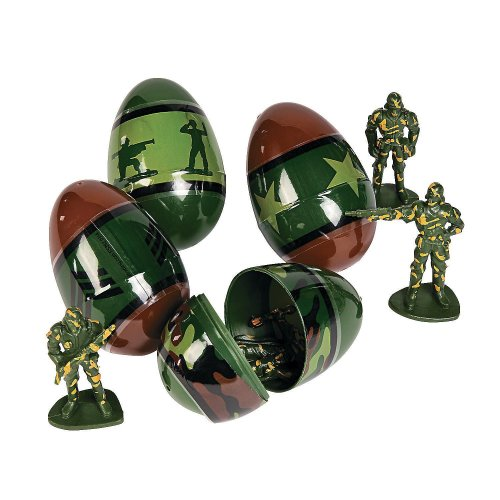 Army men Easter eggs