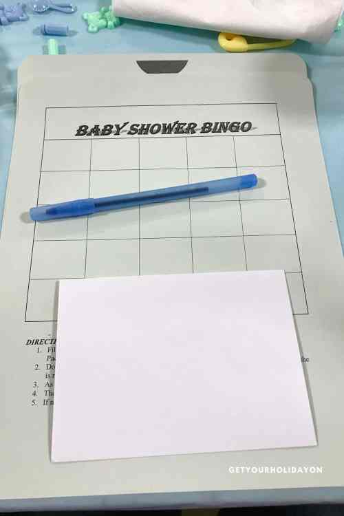 Baby Shower Bingo | Find out the Top Prize for Baby Shower Bingo | #babyshower #babyshowerbingo #bingo #party
