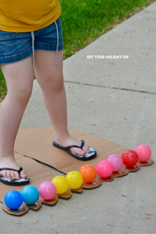 Field day games and activities for kids that is fun for the last day of school.