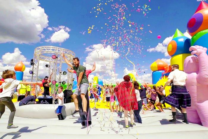 The Big Bounce House Coming to Cleveland