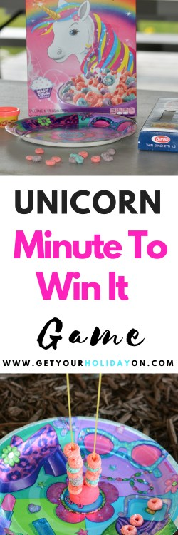 Do you love glitter, sparkles, gold, rainbows, pink, purple, dreams, and shimmering beauty! This unicorn inspired game will be fantastic for any unicorn lover! #unicorns #play #stem #Minutetowinit