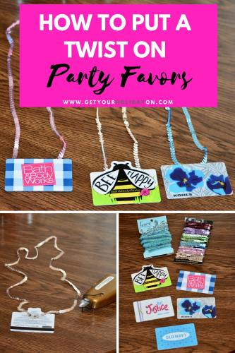 Unique DIY Gift Card Party Favors that will make teens, adults, family, and friends smile from ear to ear! Party favors are such a big part of a birthday party, baby shower, and holiday get-togethers. If you're looking for party favors that are not junk this is a perfect idea! #momlife #diysummer #play #party