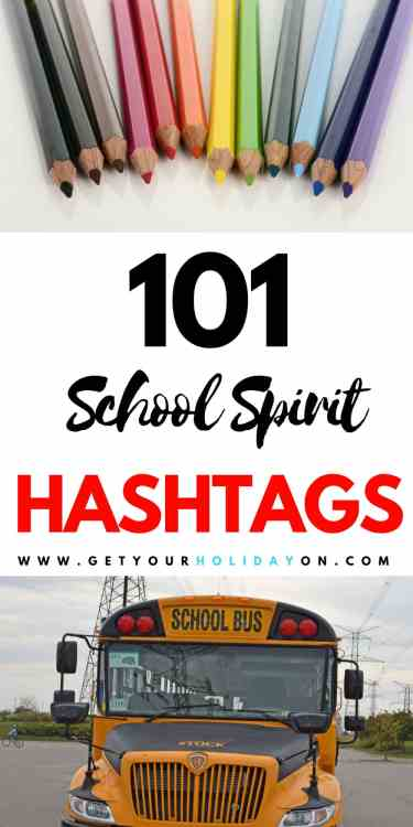 A fast and easy way for Back to School Hashtags! Need help with the most popular back to school hashtags, the first day of school hashtags, hashtags for school life, or School Spirit hashtags? Here is a helpful guide to help! #momlife #parenting #hashtags #backtoschool