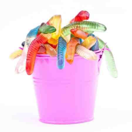 Slurpin' for Worms Game   Hilariousily funny gummy worms game! #diysummer #diyfall #partygames #birthday
