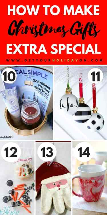 """Have you ever heard that saying, """"A Gift from the Heart?"""" It is so true! When you receive a gift that someone else took the time to make for you. Doesn't it mean more? Here are five more special DIY Christmas Gifts that you could make for your special someone! #specialsomeone #birthday #Christmas #diy"""
