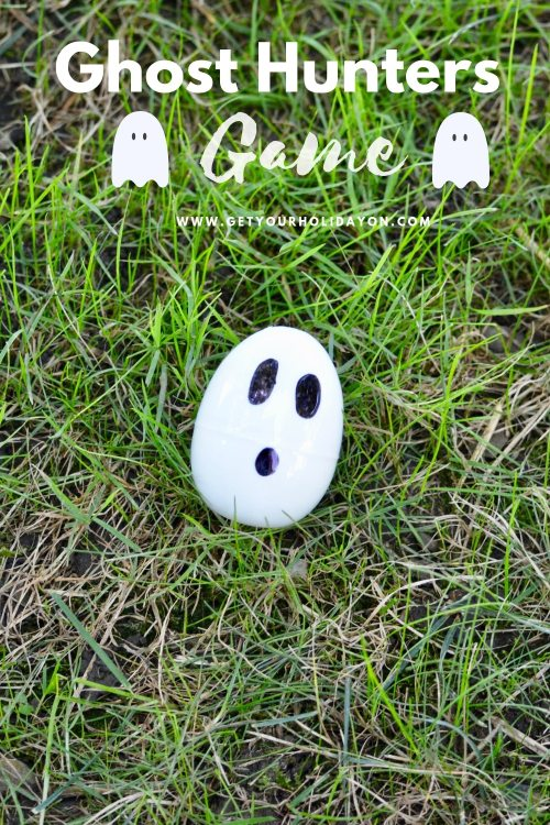 Ceiling Halloween Ghost Hunt for kids or adults #minutetowinit #momlife #diycrafts