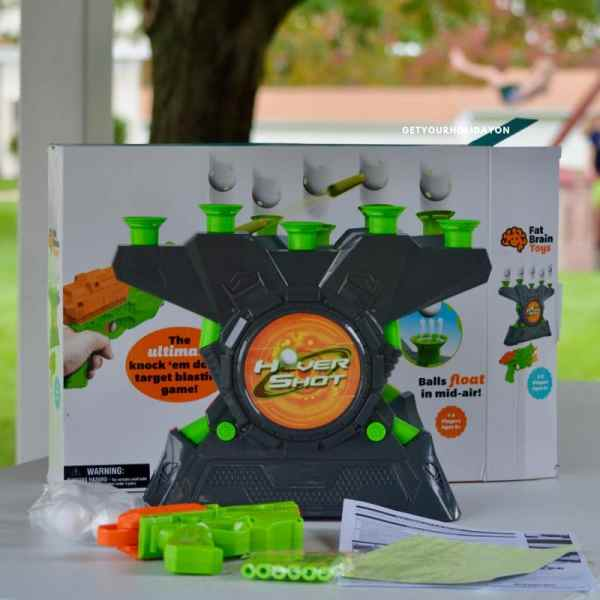 Saving you time on finding Challenging and Fun Family Games! First off did you know that theGlow-in-the-Dark Hover Shot 2.0 or Box & Balls game even existed? I personally didn't know until I partnered with Fat Brain toys! OMG are these games a ton of fun! #momlife #fatbraintoys #toys #gifts