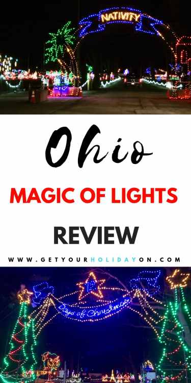 Northeast Ohio are you ready for the Magic of Lights at the Cuyahoga County Fairgrounds Review!? We had the opportunity to partner with the Magic of Lights again this year. Compare the two and check out our 2017 Magic of Lights review here!Driving through the Magic of Lights hasbecome a yearly tradition for our family! #Ohio #northeastohio #magicoflights #christmaslights