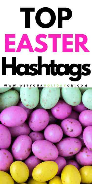 First find out our top easter hashtags that will work for twitter, instagram, or Pinterest! #blog #marketing #easterbunny #diycrafts