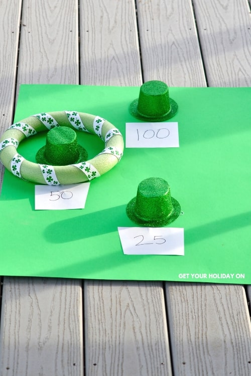 DIY Luck Irish Kids Game! Even Leprechauns would be jealous! #diys #crafts #momlife #stpatricksday
