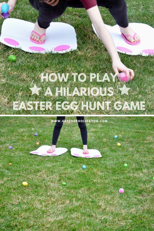 Hilarious Easter egg hunt game
