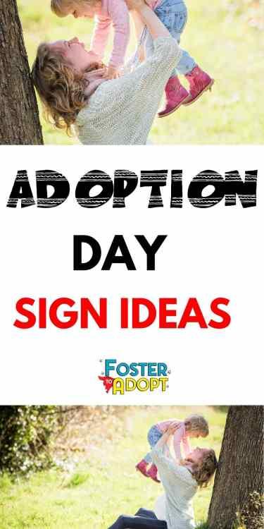 25 Adoption Day Sign Ideas adoption sign ideas | adoption announcement | adoption quotes | adoption | adoption party | adoption party ideas | I Love Adoption | Adoption Related #fostercare #fostertoadopt #adoption #adopt
