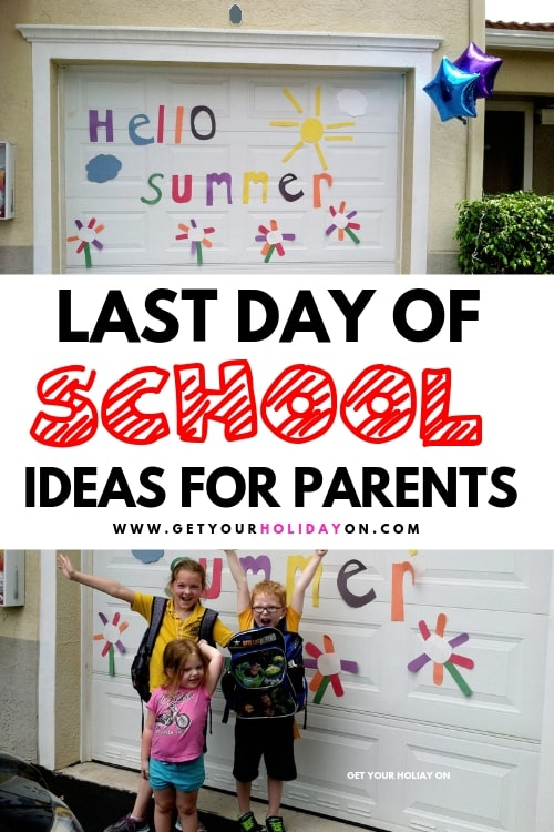 Last day of school and ready to graduate? Find awesome diy ideas to help make this day special for your kids!