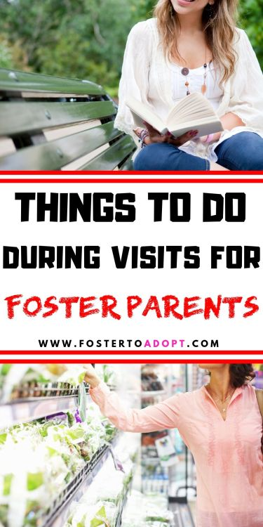 Need ideas for what to do during visitation time when foster children are spending time with bio parents? We have ideas for you! #fostercare #fostering #fostertoadopt #formoms