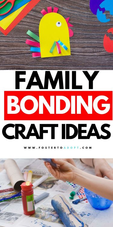 Foster Care Adoption Crafts! The biggest thing we will want to focus on is your son, daughter, or the child in your care, his or her needs. Crafts will give you a bonding experience and will help you both to discover more about each other.  It will also help instill confidence and give them self-esteem. #fostercare #adoption #crafts #momlife