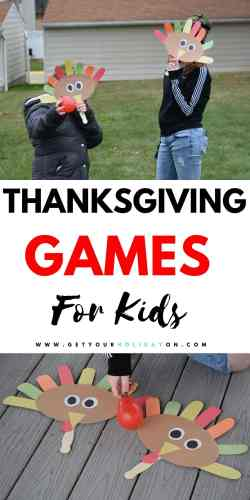 Ready for a Thanksgiving game that kids could make, craft, and turn into a turkey game? #momlife #diys #turkey #thanksgiving