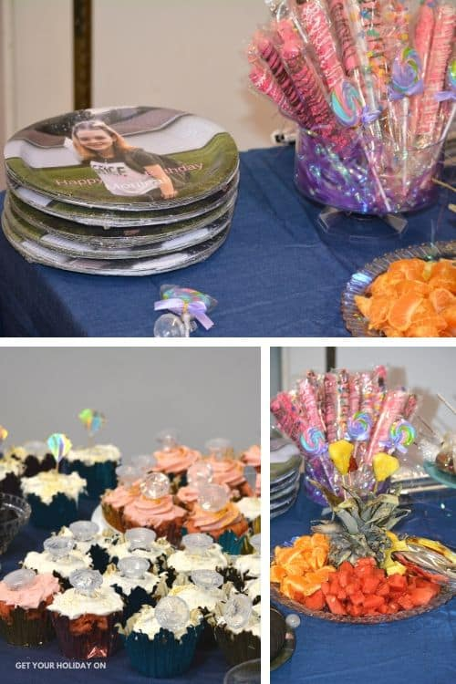 Diamond Party Theme for Teens and food ideas!