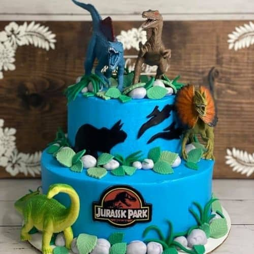 dinosaur bday cake for boys
