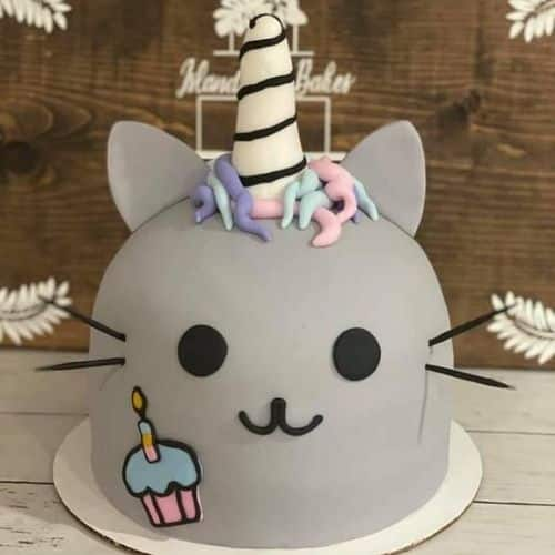 Pusheen unicorn cat