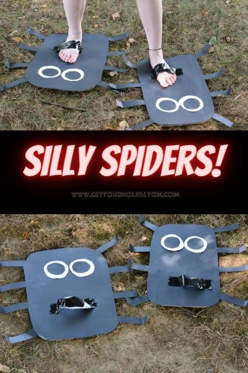silly spider that makes kids laugh!