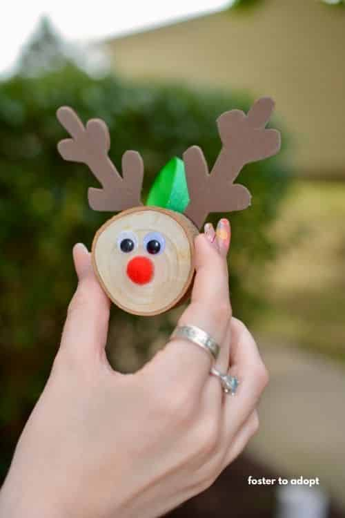 Reindeer DIY Ornament Craft Ideas for kids or adults.