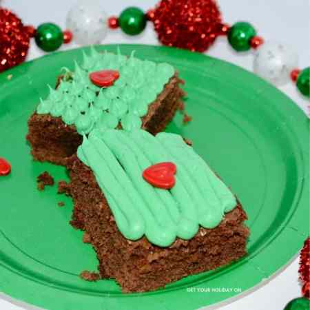A holiday movie brownie mix a dessert with sweet toppings!