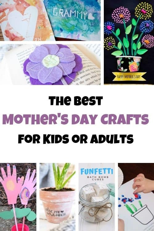 best Mother's Day Crafts for Kids or adults!