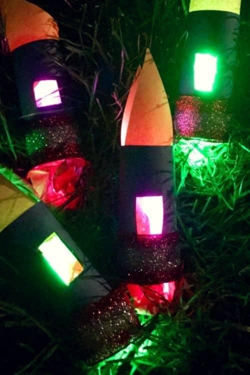 DIY firework craft for kids.