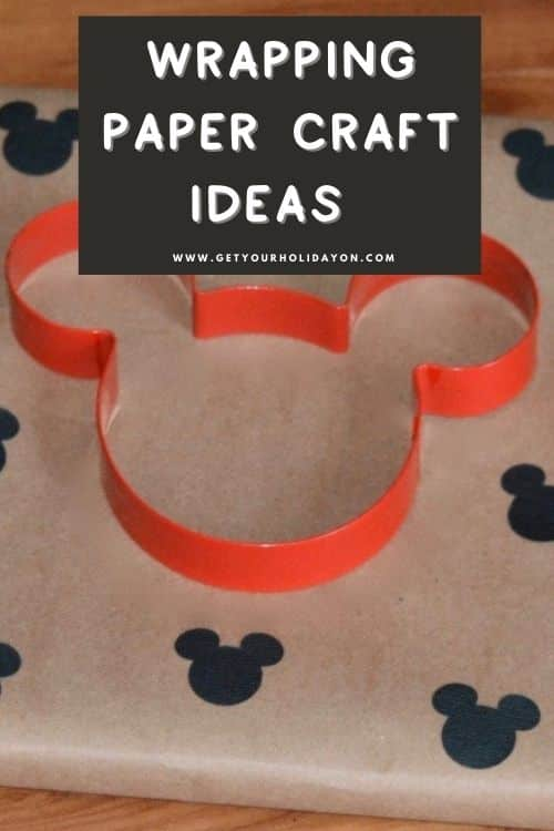 Wrapping paper craft ideas that make diy gift paper for family and friends.